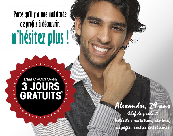 meetic gratuit