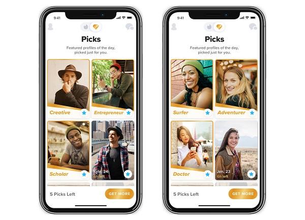Le top picks : la nouvelle fonctionnalité Tinder pour mettre en avant vos matchs